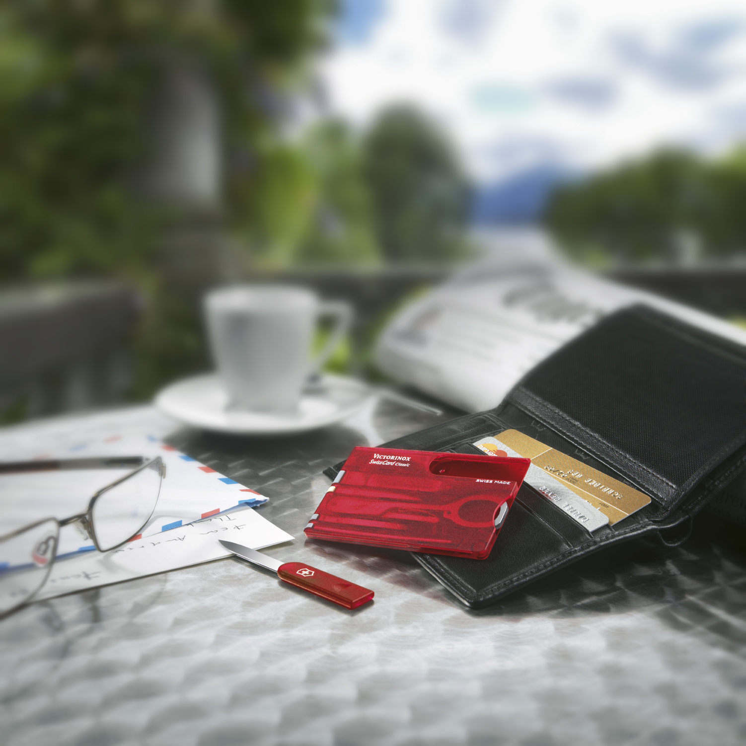 Швейцарская карточка Victorinox SwissCard Ruby красная (0.7100.T)