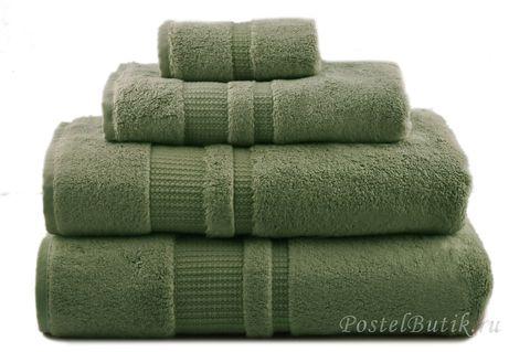 Полотенце 40х30 Hamam Pera зеленое