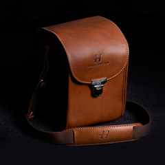 Чехол Lunar camera case brown leather