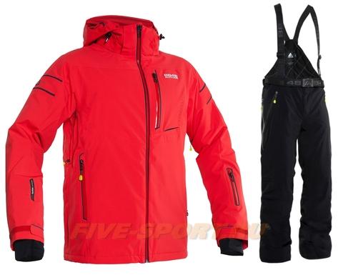 Горнолыжный костюм 8848 Altitude Switch 2 Red Venture Black