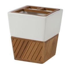 Стакан для зубных щёток Spa Bamboo от Creative Bath