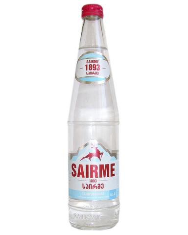 Вода Sairme газированная, 0,5л