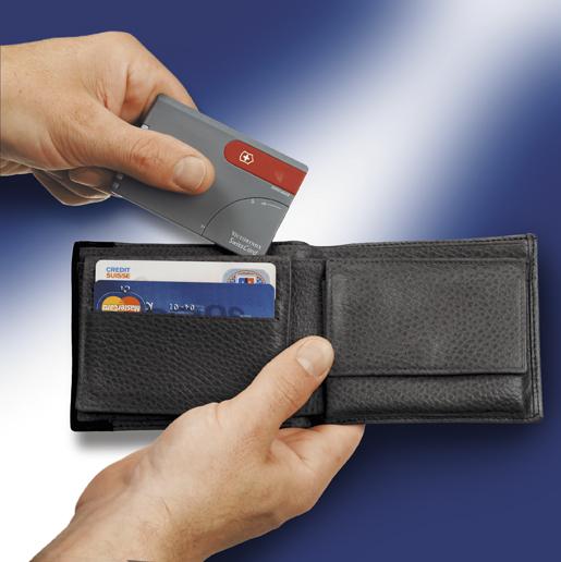 Швейцарская карточка Victorinox SwissCard Onyx черная (0.7133.T3)