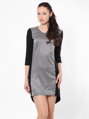 P256-9z платье черно-белое