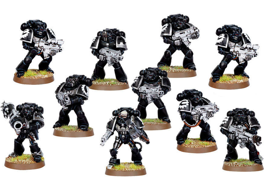 Iron Hands Tactical Squad Upgrade Pack
