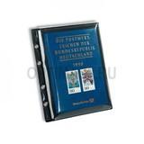 Лист OPTIMA Экстра прочный, 1 карман-отдлеление, черная основа