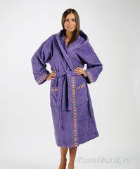 Халат махровый Caleffi Yupi фиолетовый