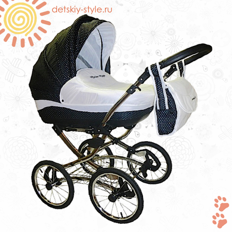 "Коляска Stroller B&E ""Maxima Magic Diamond"" 3в1"
