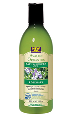 Гель для ванны и душа с маслом розмарина, Avalon Organics