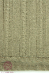 Элитный плед -покрывало Imperio 196 зеленый от Luxberry
