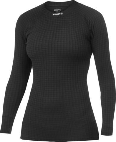 Термобелье Рубашка Craft Warm Wool Black женская