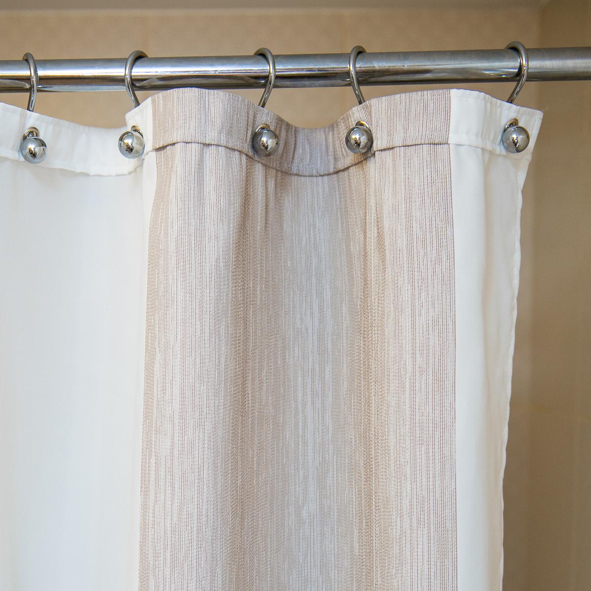 Элитная шторка для ванной Estepona C. Beige от Arti-Deco