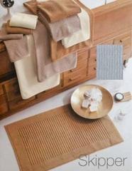 Элитный коврик для ванной Skipper серый от Svad Dondi
