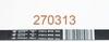 Ремень для стиральной машины Gorenje (Горенье) Hutchinson 1942 H8 1890 мм - 270313, 160165