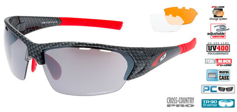 Солнцезащитные очки goggle линия DRONE black carbon