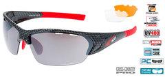 Спортивные солнцезащитные очки goggle линия DRONE black carbon