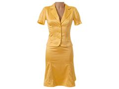 74153-1 костюм женский, желтый