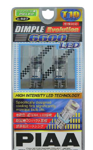 Светодиодные лампы PIAA W5W/T10 H-527 (6600K)