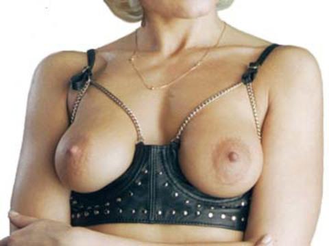 Сексуальное эротическое белье Лиф на косточках (костюм садомазо)