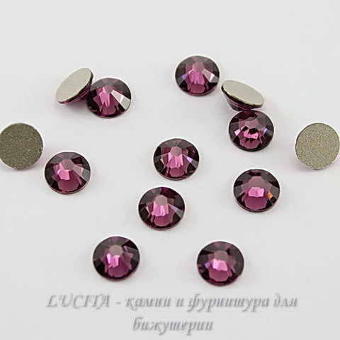 2028/2058 Стразы Сваровски холодной фиксации Amethyst ss12 (3,0-3,2 мм), 10 штук