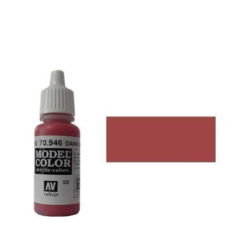 032. Краска Model Color Красный Темный 946 (Dark Red) укрывистый, 17мл