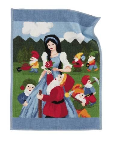 Полотенце детское 37x50 Feiler Marchen Snow White 202 голубое