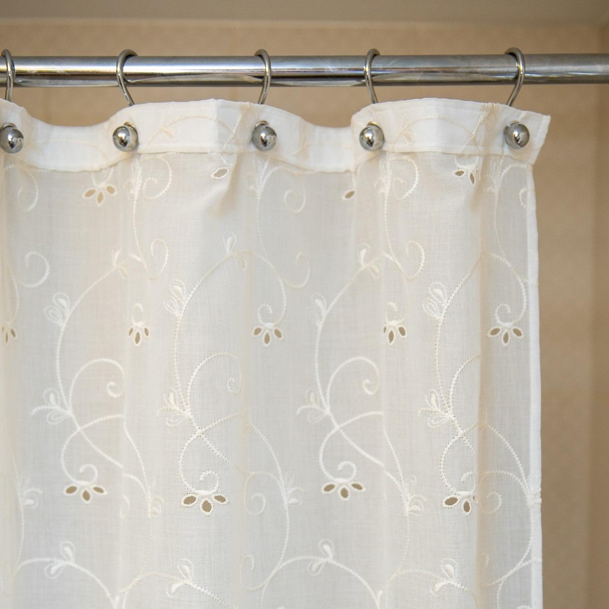 Шторки для ванной Шторка для ванной 200х240 Arti-Deco Embroidery 2803 elitnaya-shtorka-dlya-vannoy-240h200-embrodery-2803-ot-arti-deco-ispaniya.jpg