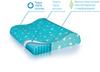 Подушка ортопедическая TRELAX Bambini под голову для детей от 1.5 до 3 лет,