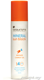 Морковное масло для бронзового загара SPF-4 Mineral Sun Block Sea of SPA, 250мл