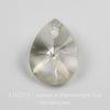 6128 Подвеска Сваровски Капля Crystal Silver Shade (12 мм)