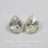 6128 Подвеска Сваровски Капля Crystal Silver Shade (12 мм) ()