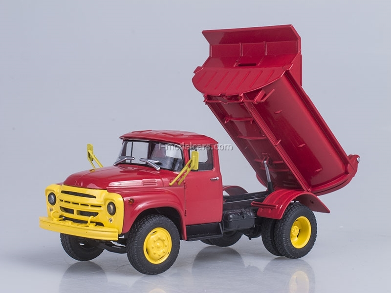 ZIL-MMZ-555 Tipper early 1974 Autoexport 1:43 AutoHistory