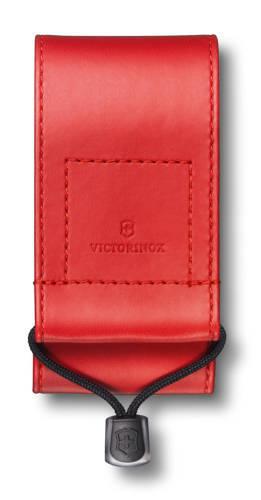 Чехол из искусственной кожи красный для Swiss Officers Knife 91 и 93 мм толщиной 5-8 уровней, в пакет