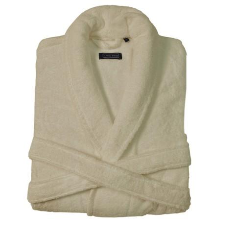 Элитный халат махровый Chicago слоновая кость от Casual Avenue