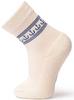 Термоноски утепленные с шерстью мериноса Norveg Soft Merino Wool Offwhite-Blue детские