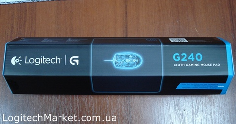 LOGITECH G240 Cloth Gaming Mouse Pad [93299]