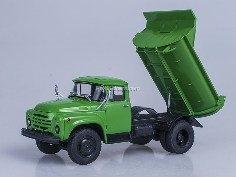 ZIL-MMZ-555 Tipper late 1979 green 1:43 AutoHistory