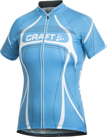 Велофутболка Craft Tour женская голубая