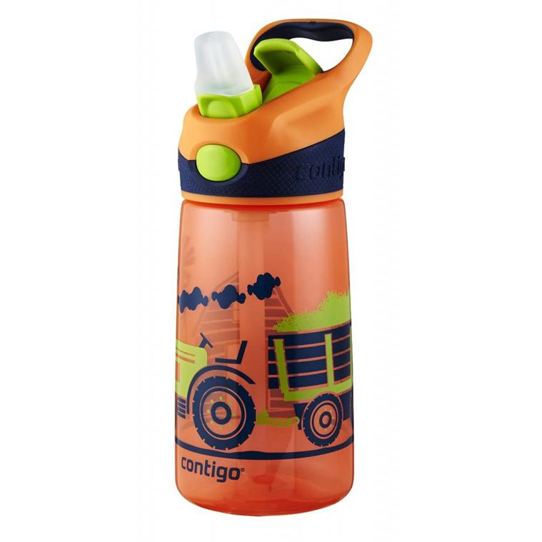 Детская бутылочка Contigo Striker (0.42 литра), оранжевая