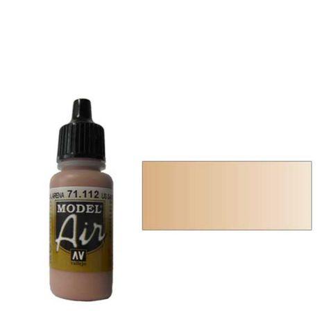 112 Краска Model Air US Песочный (US Sand) укрывистый, 17 мл