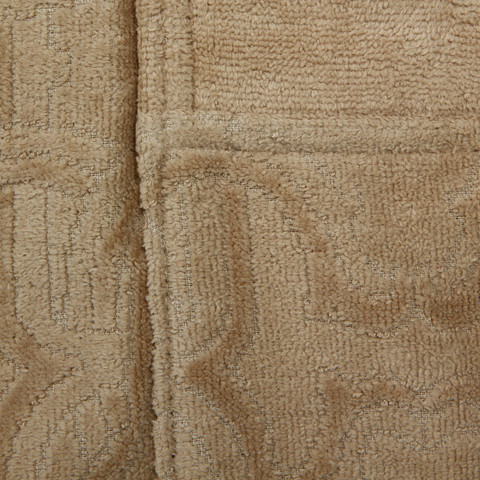 Элитный халат-кимоно велюровый Logo бежевый от Roberto Cavalli