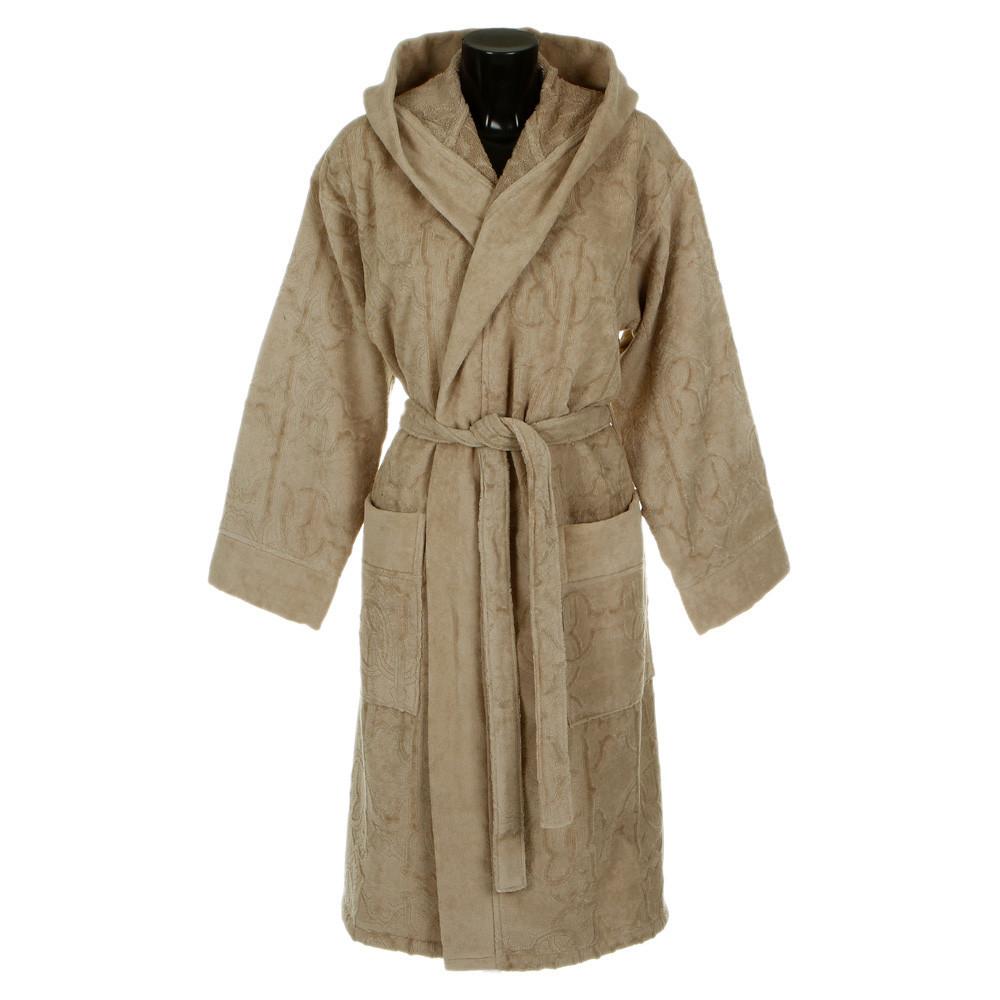 Халаты Элитный халат велюровый Logo с капюшоном бежевый от Roberto Cavalli elitnyy-halat-velyurovyy-logo-bezhevyy-ot-roberto-cavalli-italiya.jpg