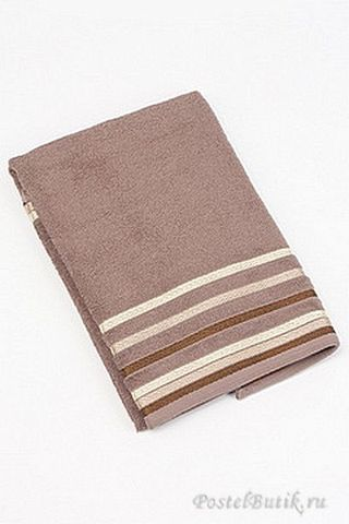 Набор полотенец 2 шт Caleffi Clio коричневый