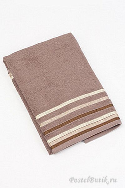 Наборы полотенец Набор полотенец 2 шт Caleffi Clio коричневый mahrovie-polotentsa-CLIO-caffe-caleffi.jpg