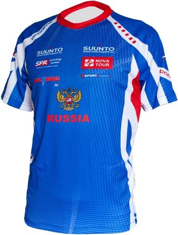 Футболка Noname - Сборная России 2012 t-shirt синяя