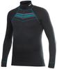 Термобелье Рубашка Craft Active Zip мужская black print