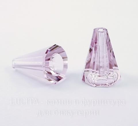 5540 Бусина - конус Сваровски Light Amethyst 17 мм