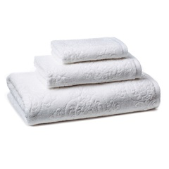 Полотенце 46х71 Kassatex Bedminster Damask white
