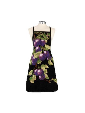 Фартук шенилловый Fruchte слива 57 lila от Feiler