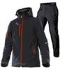 Лыжный утеплённый костюм Asteroid Grassi Black Red мужской